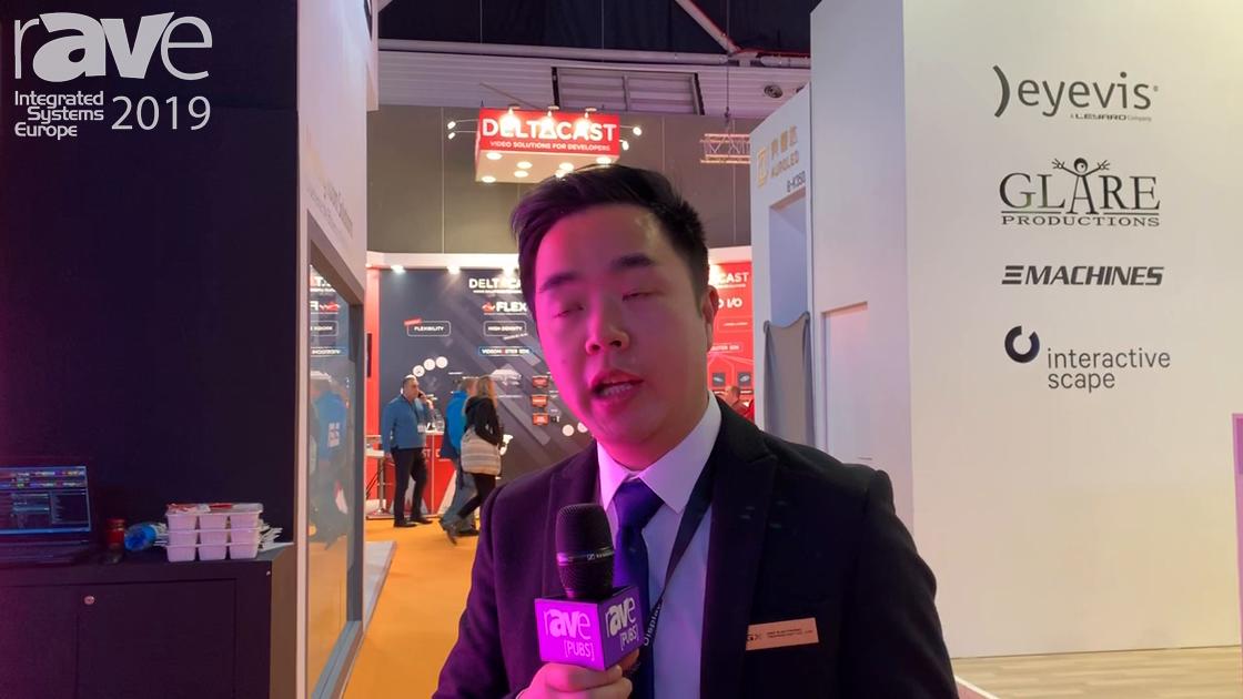 ISE 2019: DGX Showcases 8K370 Double-Sided LED Poster for Shopping Malls