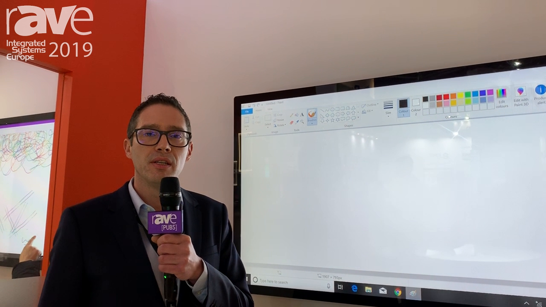 ISE 2019: DISPLAX Announces Skin Pro Whiteboard Solution for Huddle Spaces or Education