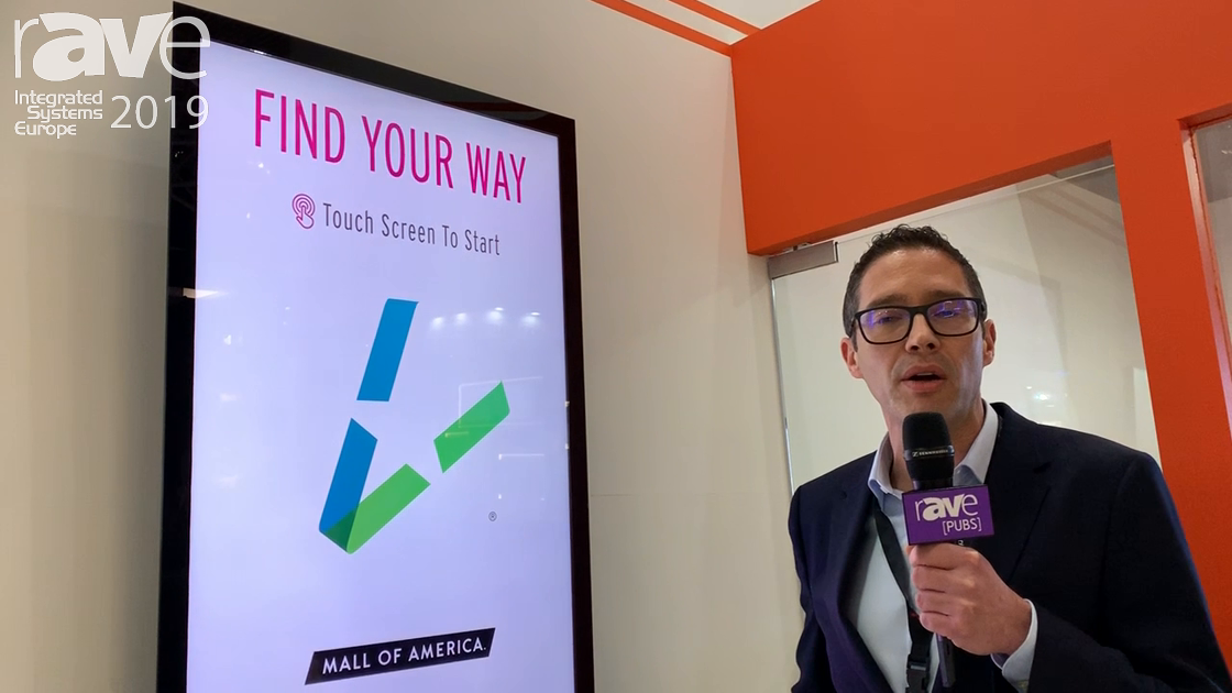 ISE 2019: DISPLAX Features Skin Fit Outdoor Digital Signage Display for Retail Applications