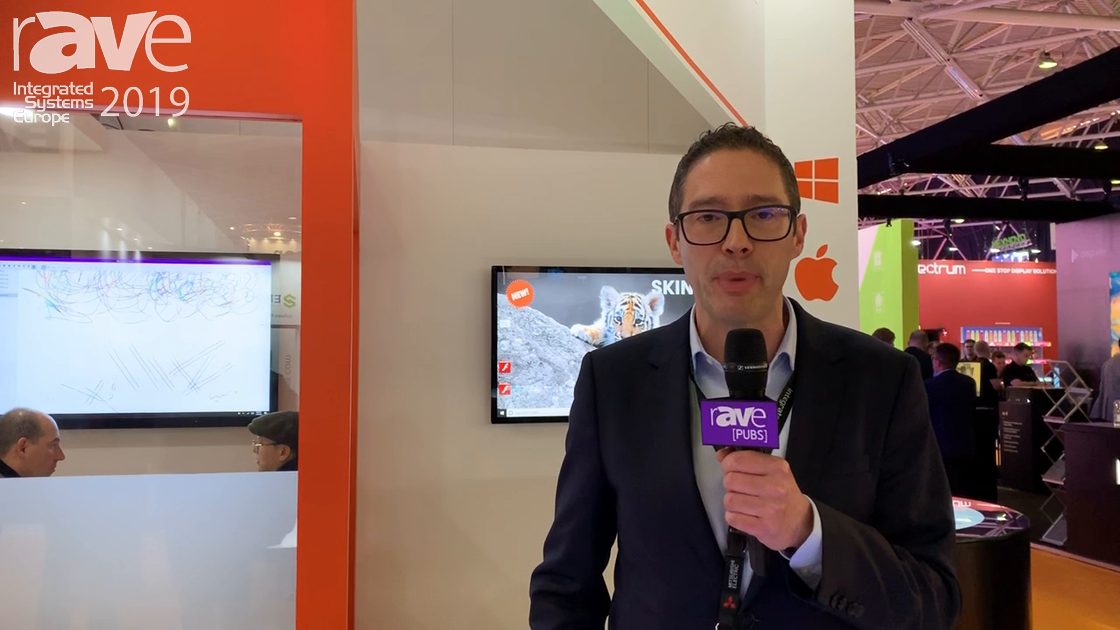 ISE 2019: DISPLAX Showcases Skin Ultra with Object Recognition for Retail Uses