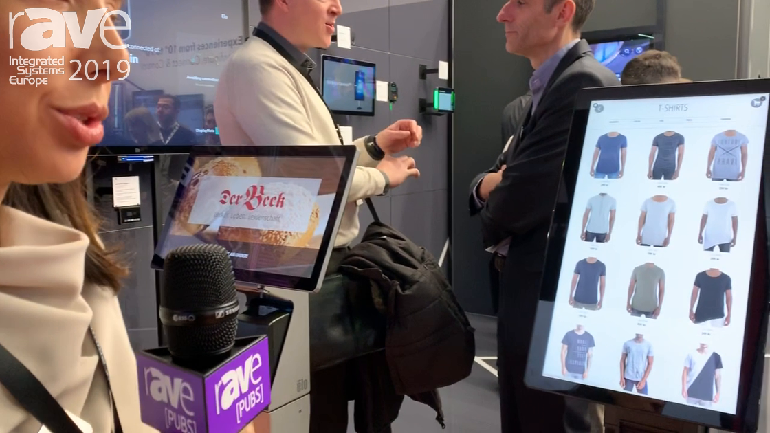 ISE 2019: Elo Touch Solutions Explains Self-Service Solution I-Series Display With Wallaby Stand