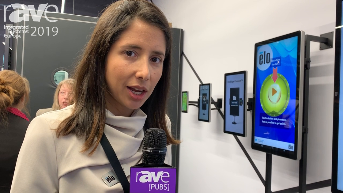 ISE 2019: Elo Touch Solutions Offers Interactive Digital Signage Wall Offerings for Hospitality