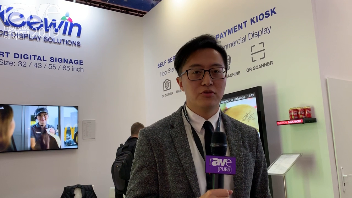 ISE 2019: Keewin Intros Stretch High-Brightness LCD Panels For Transportation Applications
