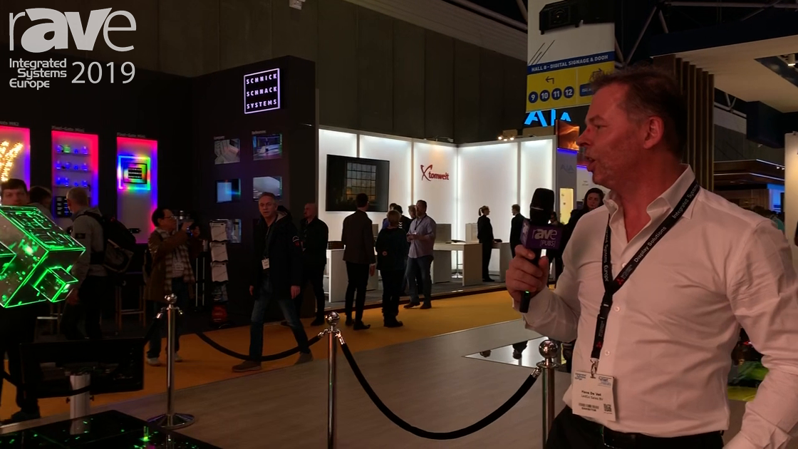 ISE 2019: LEDGO Demos Unique Custom Solutions for Shopping Malls