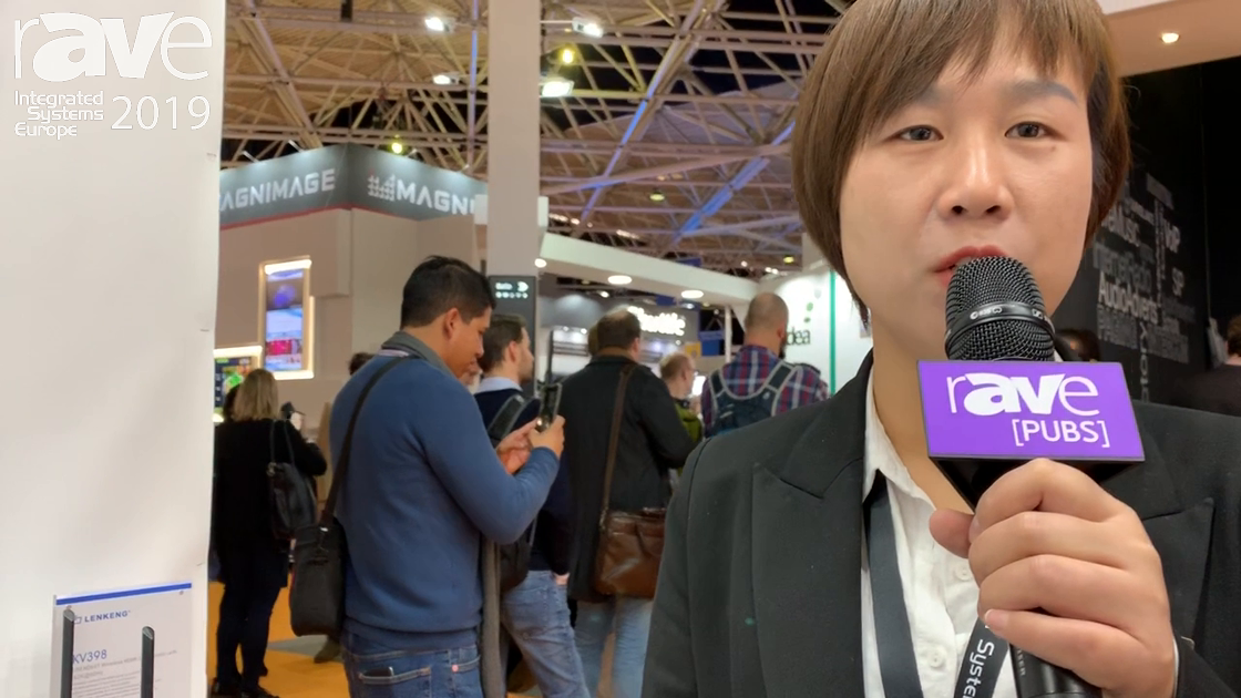 ISE 2019: LENKENG Shows 4K HDbitT Wireless Transmission HDMI Extender