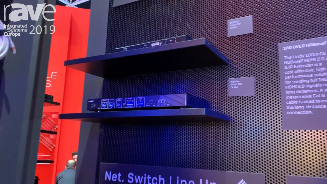 ISE 2019: LINDY Features 38161 Flexible Video Wall Scaler for Any Video Wall Configuration