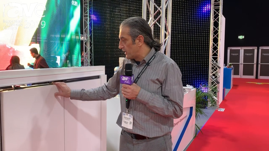ISE 2019: Parthos Discusses Sound-Sealed Sliding Door System