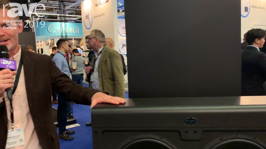 ISE 2019: Procella Audio Exhibits Large Double-Driver Subwoofers