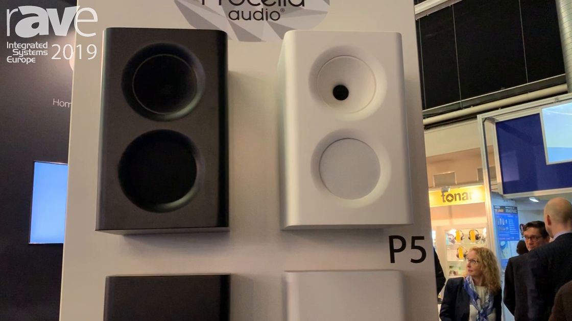 ISE 2019: Procella Audio Shows P5 Loudspeaker in Bookshelf-Style and Slim-Style