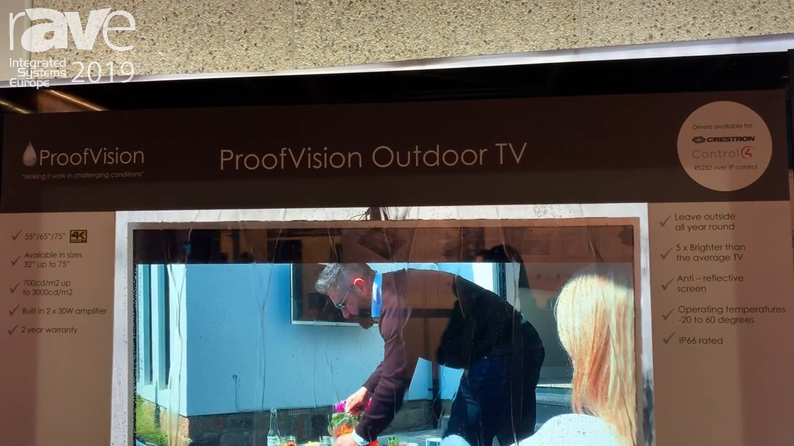 ISE 2019: ProofVision Showcases Outdoor TV