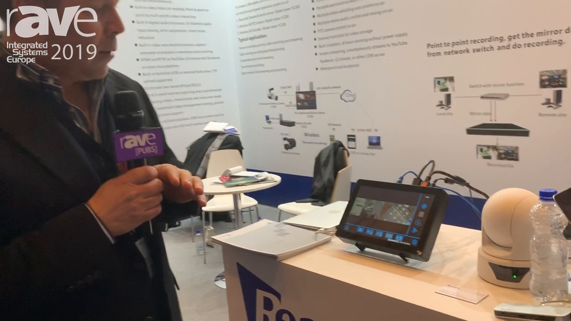 ISE 2019: REACH Demos the New Bee3 Video Production System
