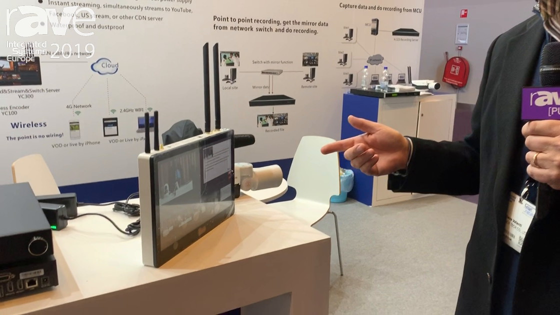 ISE 2019: REACH Presents YC300 yCat Wireless Live Production System