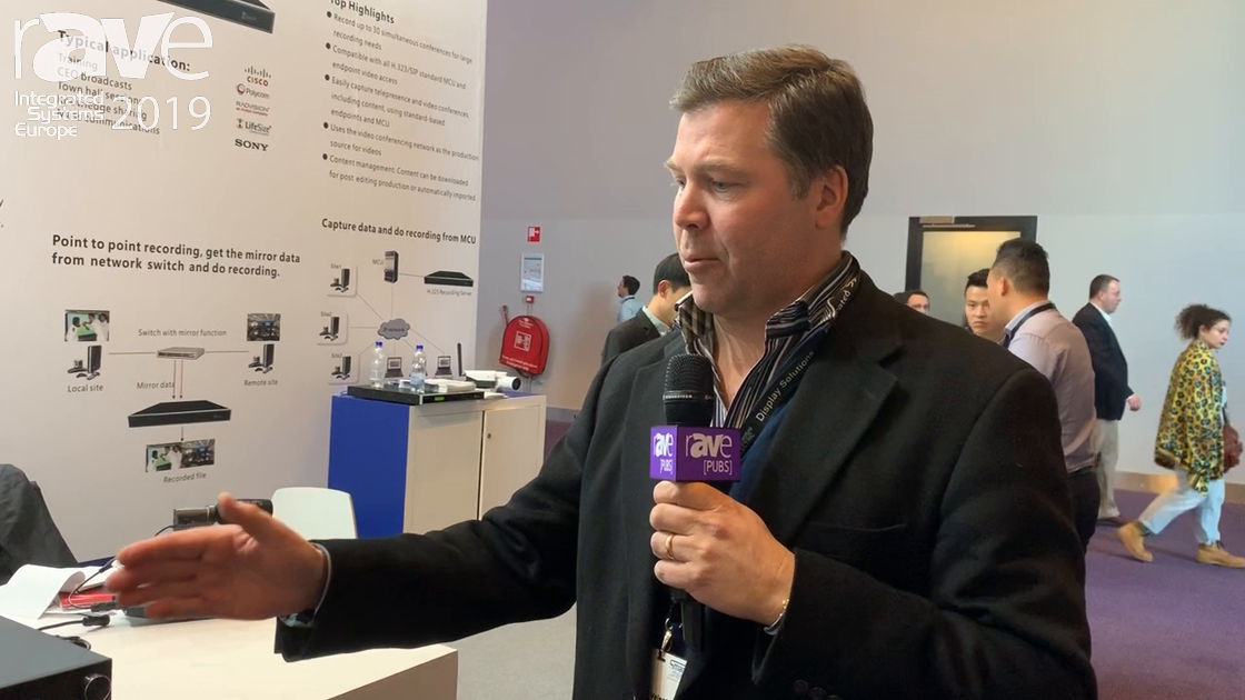ISE 2019: REACH Intros the Bee9 Plus Lecture Capture, Recording and Streaming Device