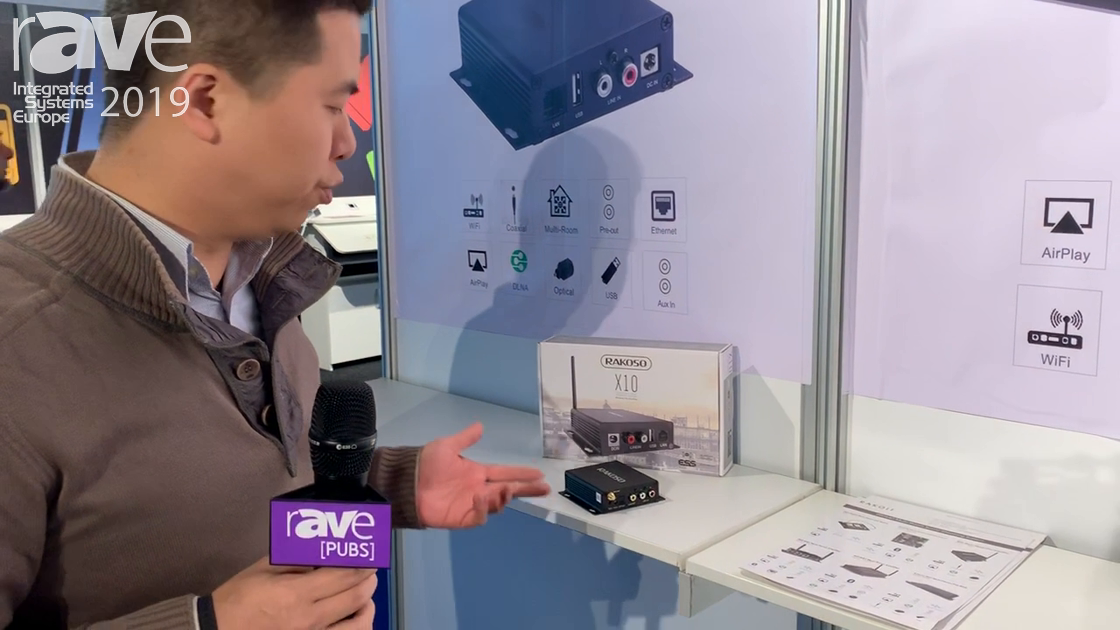 ISE 2019: Rakoit Showcases Its X10 Wireless Pre-Amplifier