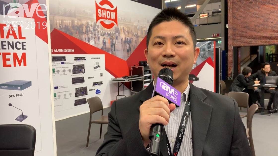 ISE 2019: Seikaku Talks About Digital Conference System for Conference Rooms