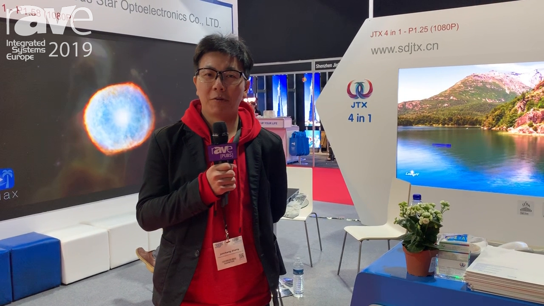 ISE 2019: Shandong Prosperous Star Optoelectronics Co. Highlights 4-in-1 LED Tubes and Displays