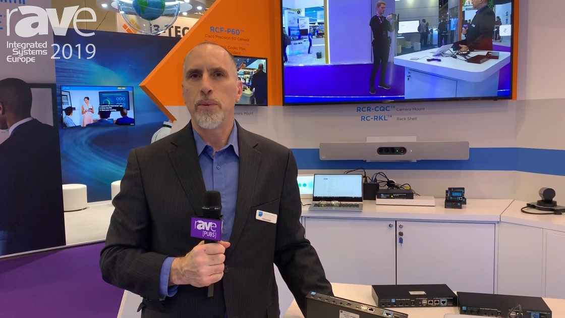 ISE 2019: Sound Control Technologies Shows Remote TableKit Transmitter for Cisco Codecs