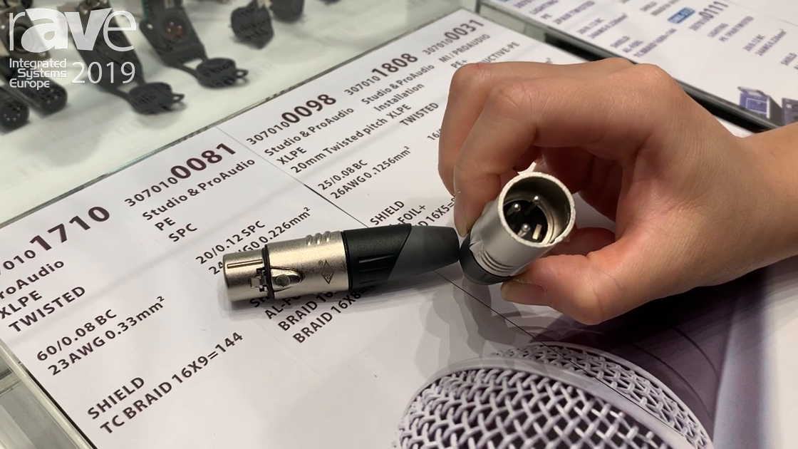 ISE 2019: Srexact Exhibits SVP556 XLR Connector