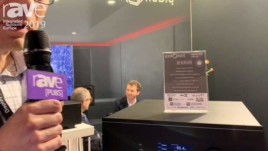 ISE 2019: Storm Audio Discusses ISP20 20-Channel Audio Processor