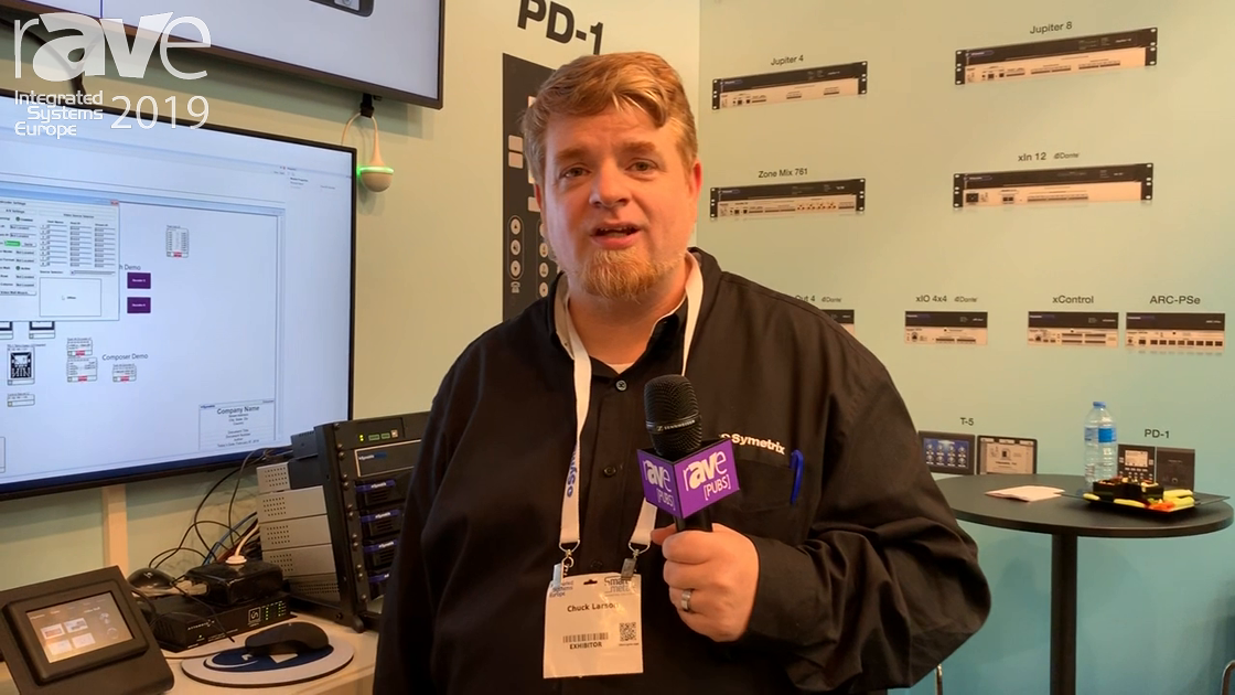 ISE 2019: Symetrix Shows PD1 Telco Dialer for DSP-Hosted Telco Interface