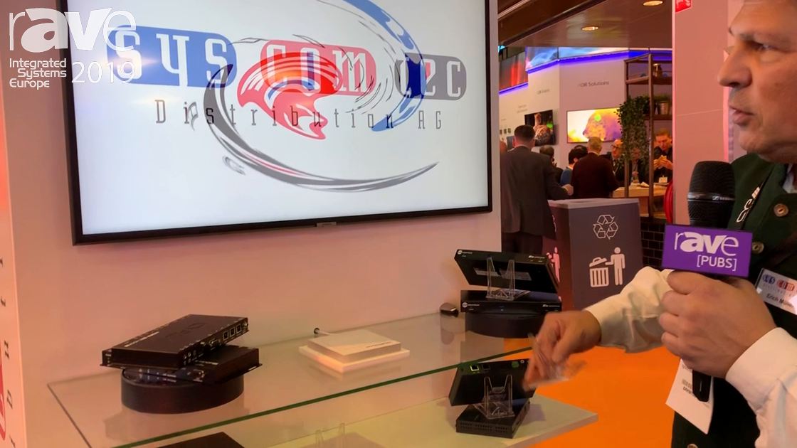 ISE 2019: Syscomtec Shows AV-over-IP Solution for 4K Transmission Over a Network