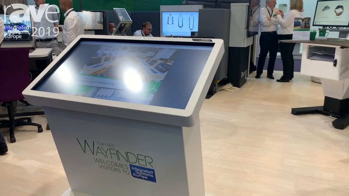 ISE 2019: TOP-TEC Presents Wayfinder Wayfinding Solution
