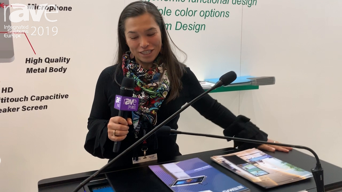 ISE 2019: Temas Technology Shows TK32H Digital Podium