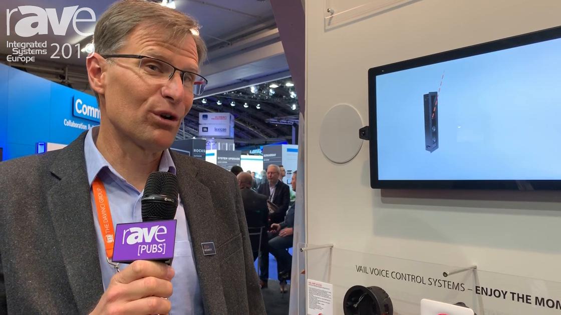 ISE 2019: The DaVinci Group Debuts Vanguard Dyanmics Vail Amp 3 Dock for Amazon Alexa 3rd Gen Dot
