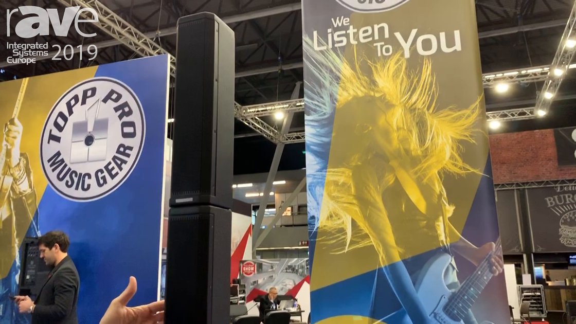 ISE 2019: Topp Pro Showcases Event 2K System for Rental and Staging Events
