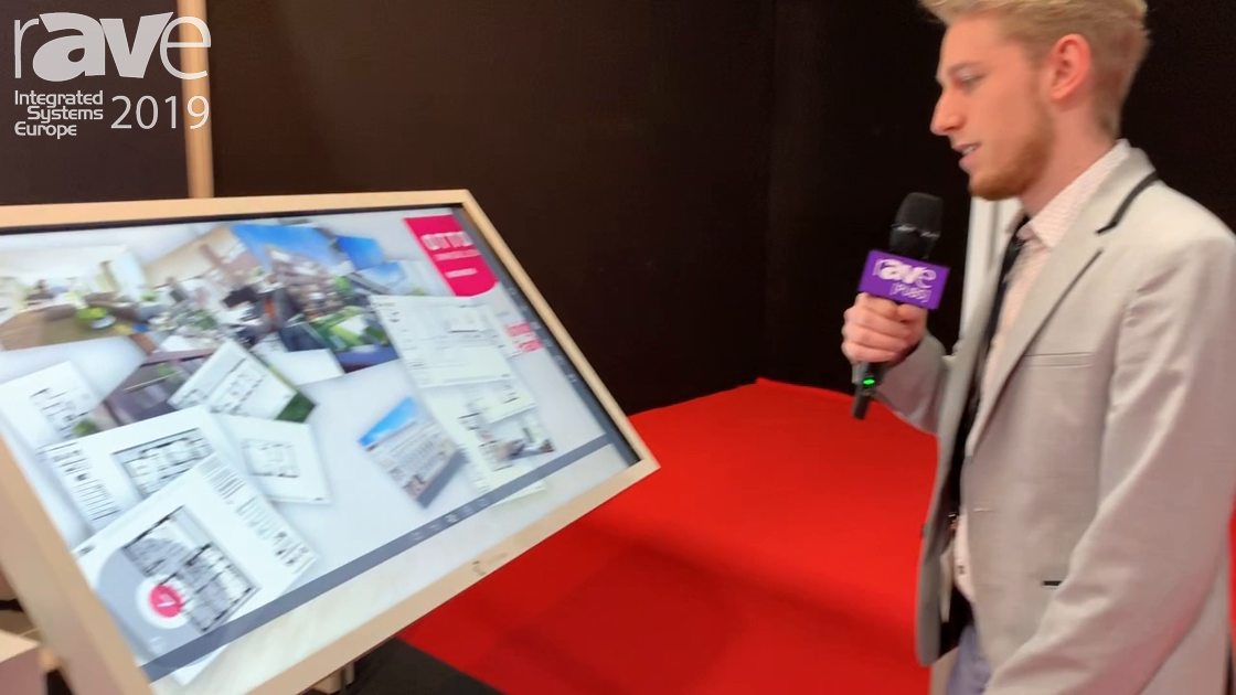 ISE 2019: TouchLay Gives Overview of nova Multi-Touch Presentation Table
