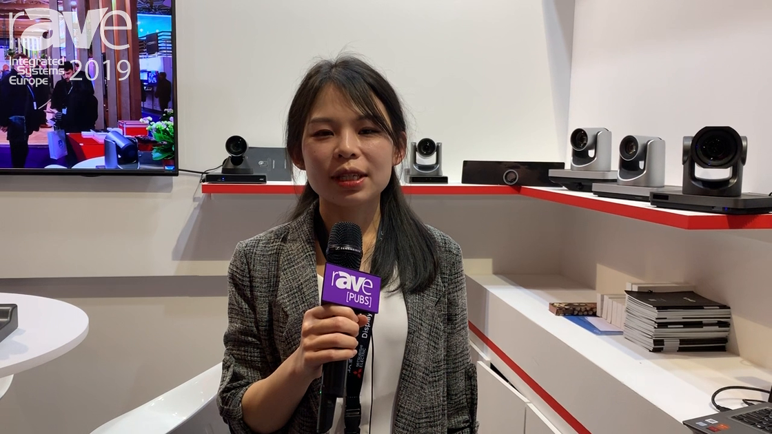 ISE 2019: ValueHD Corporation Presents 4K Video Conferencing Camera