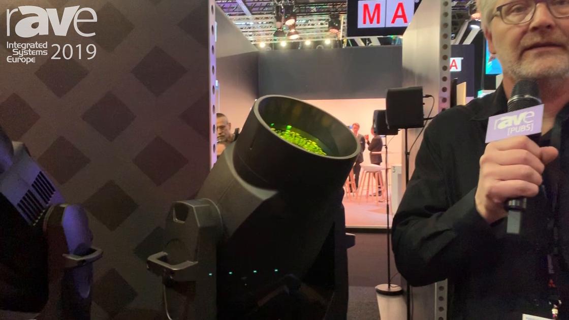 ISE 2019: Vari-Lite Discusses VL 10 Beamwash and VL 2600 Profile