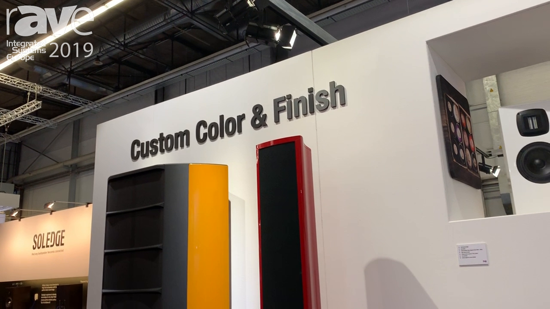 ISE 2019: Wisdom Audio Shows New Custom Colors and Finishes for Linesource Loudspeakers