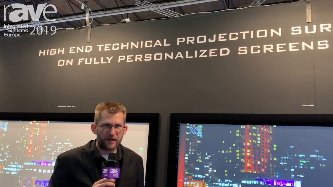 ISE 2019: XTREM SCREEN Presents Its Ambient Light Projection Screen