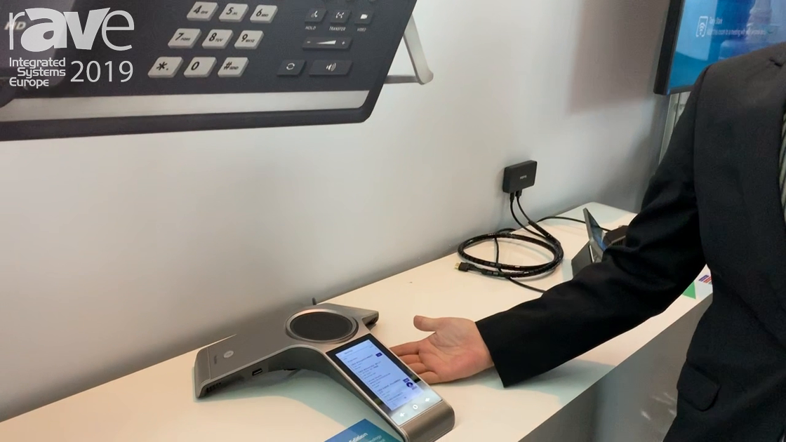 ISE 2019: Yealink Talks About CP960 Conference Phone for Microsoft Teams