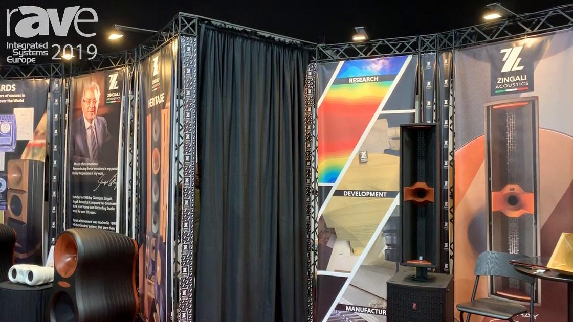 ISE 2019: Zingali Acoustics Exhibits Omniray High End Pro Speakers