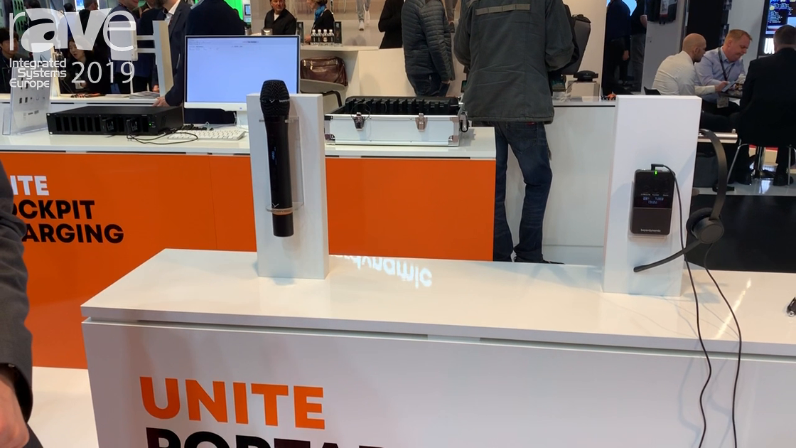 ISE 2019: beyerdynamic Highlights Unite Portable Solution Digital Wireless Communication System
