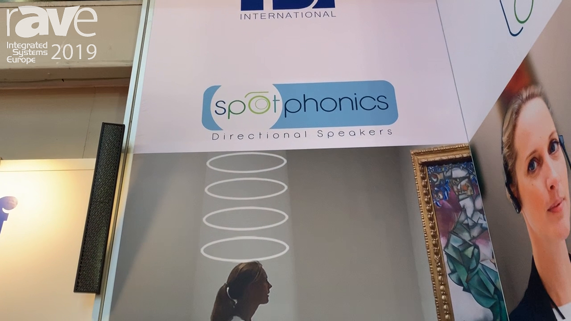 ISE 2019: rsf International Features Spotphonics Directional Speakers
