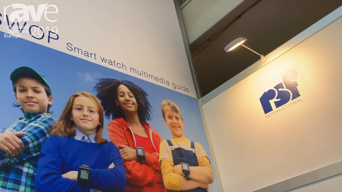 ISE 2019: rsf International Previews SWOP Smart Watch Multimedia Guide