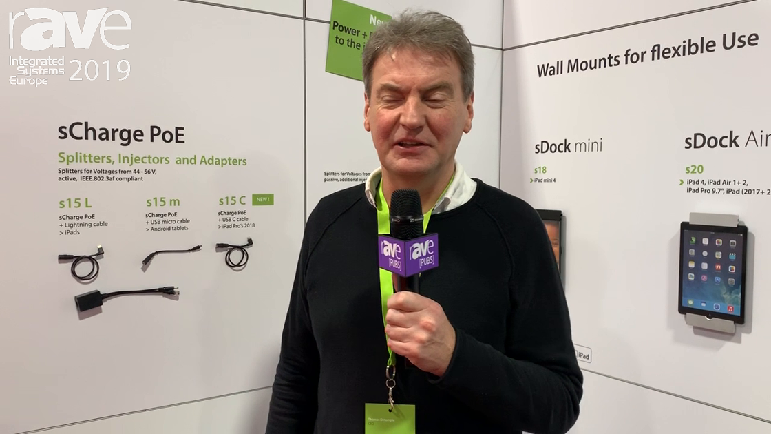 ISE 2019: smart things Presents sCharge Series Charging Solutions