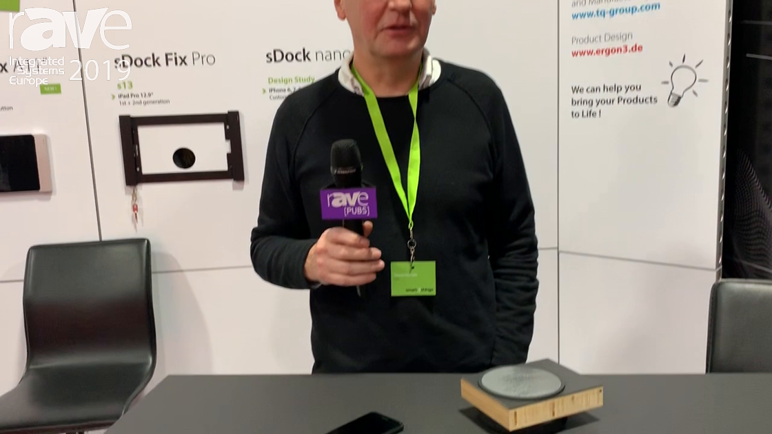 ISE 2019: smart things Talks About sDot Inductive Charger