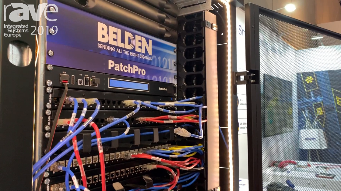 ISE 2019: Belden Explains Its PatchPro Intelligent Physical Layer Management System for Data Centers