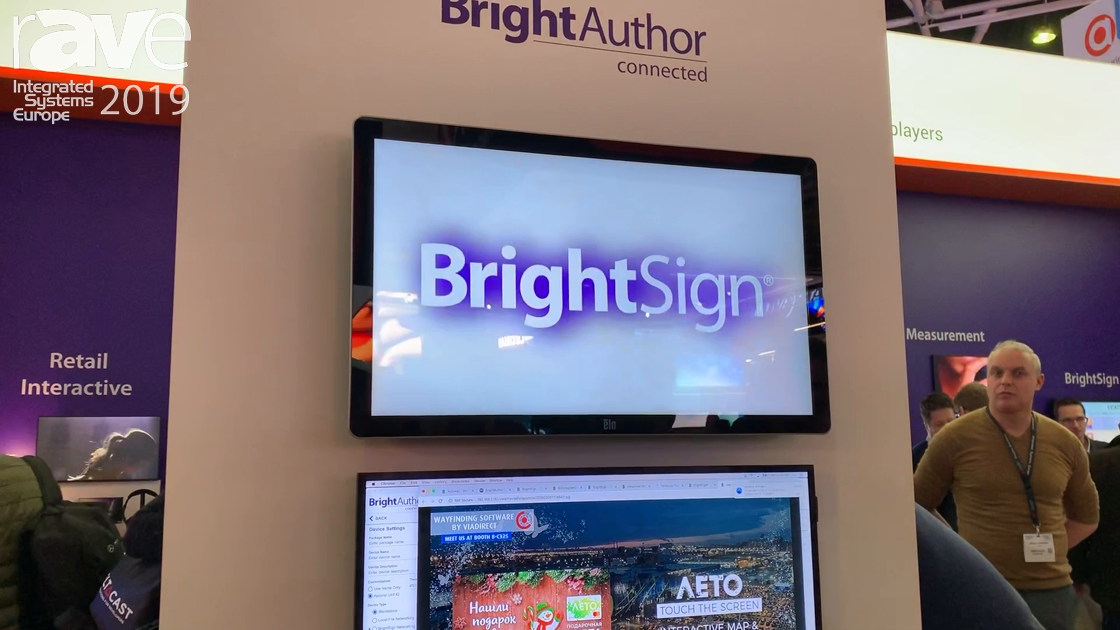 ISE 2019: BrightSign Unveils Its New Cloud-Based BSN.cloud Digital Signage Software