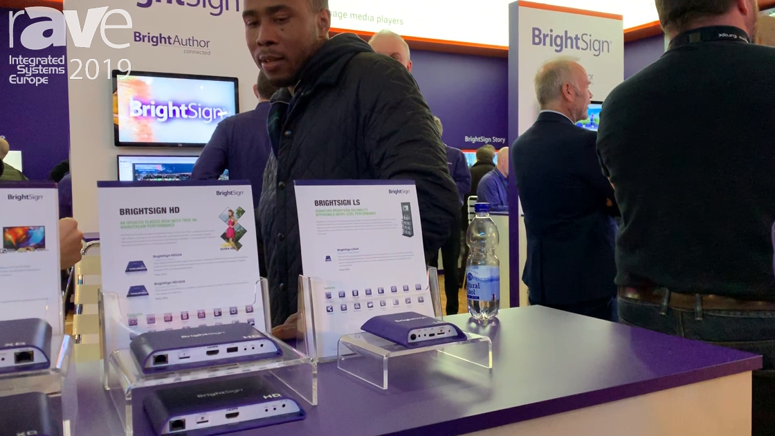 ISE 2019: BrightSign Introduces HD4 and LS4 Series of Digital Signage Media Players