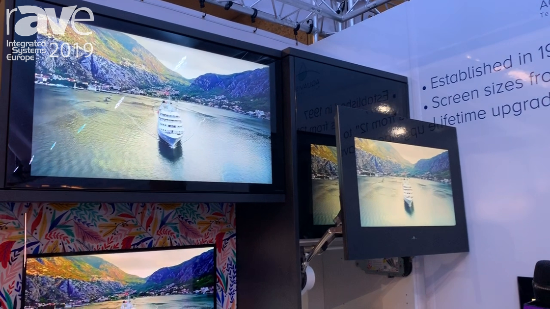ISE 2019: Aquavision Shows Off Its Kitchen TV Units, Including Lift Up Cupboard TVs