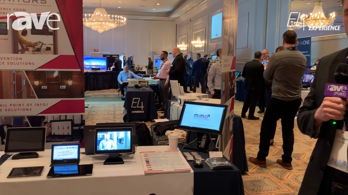 E4 Experience: Mimo Monitors Walks Through Wide Range of Touch Solutions