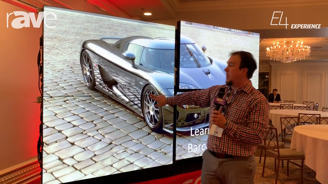 E4 Experience: Barco Discusses UniSee, a Bezel-Less Tiled LCD Video Wall Platform