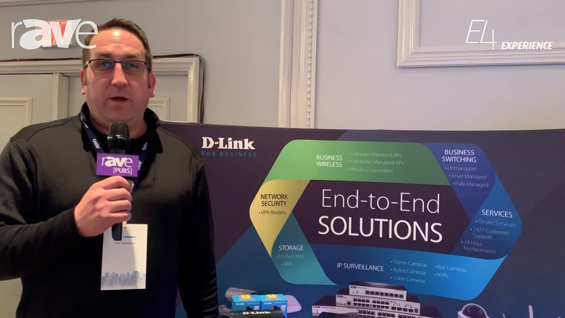E4 Experience: D-Link Talks About Line-Up of Switches for AV-over-IP Solutions