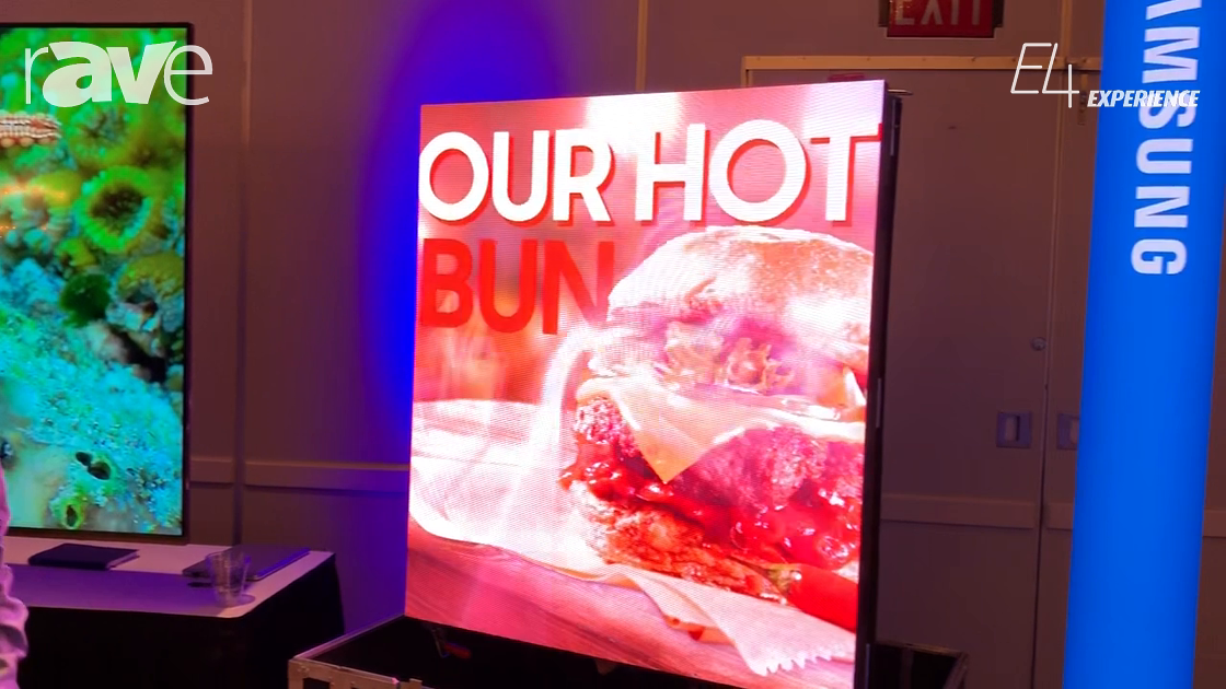 E4 Experience: Samsung Presents 2.0 IF Series LED Display with S-Box and Embedded CMS