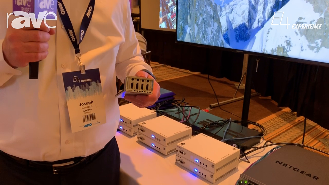 E4 Experience: ZeeVee Shows New APM408P SDVoE Input Module for NETGEAR 96-Port Switch
